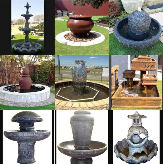 Caleon water features